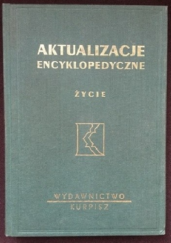 Okładka książki Aktualizacje encyklopedyczne. Życie