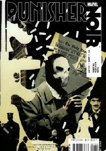 Okładka książki Punisher Noir #1