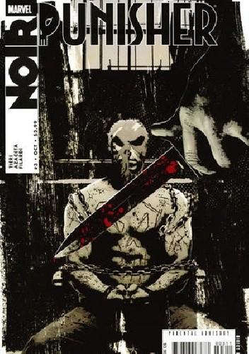 Okładka książki Punisher Noir #3