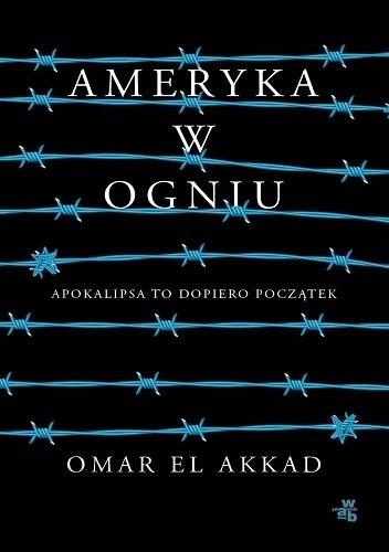 Okładka książki Ameryka w ogniu