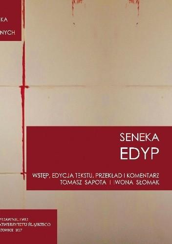 "Okładka książki Lucius Annaeus Seneca ""Edyp. Oedipus"""