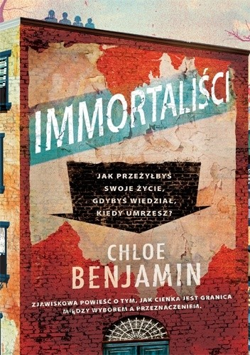 Okładka książki Immortaliści