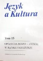 Opozycja homo-animal w języku i kulturze
