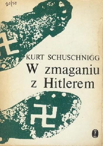 Okładka książki W zmaganiu z Hitlerem. Przezwyciężanie idei Anschlussu