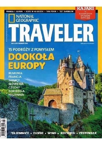 Okładka książki National Geographic Traveler 08/2018 (129)