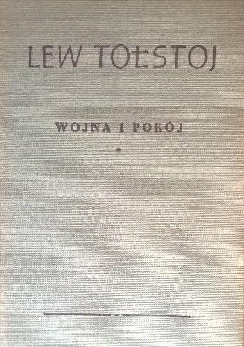 Okładka książki Wojna i Pokój Tom 1