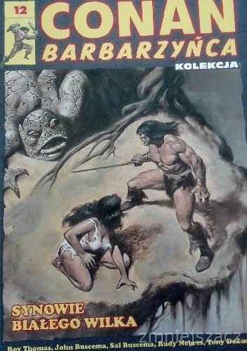Okładka książki Conan Barbarzyńca. Tom 12 - Synowie białego wilka