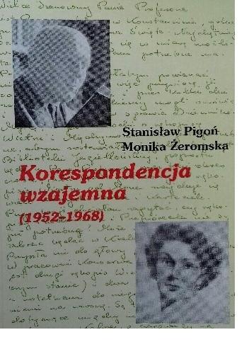 Okładka książki Korespondencja wzajemna (1952-1968)