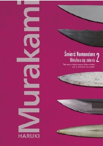 Okładka książki Śmierć Komandora. Metafora się zmienia