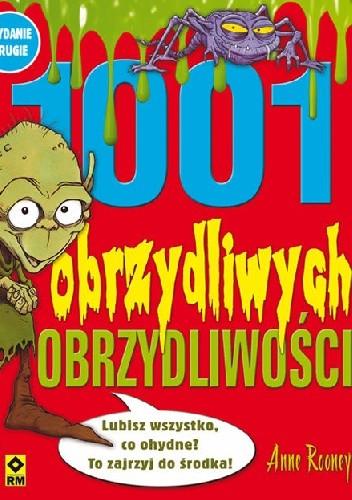 """Okładka książki """"1001 obrzydliwych obrzydliwości"""" cz.2"""