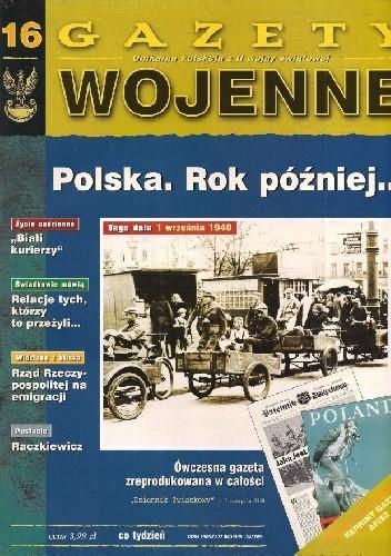 Okładka książki 16. Polska. Rok później...