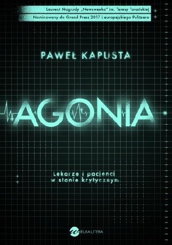 Okładka książki Agonia