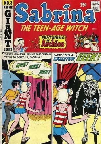 Okładka książki Sabrina the Teenage Witch No. 3