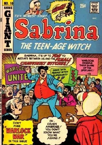 Okładka książki Sabrina the Teenage Witch No. 10