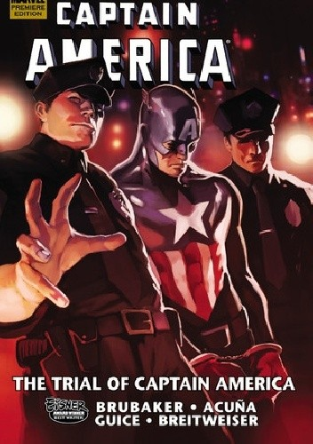 Okładka książki Captain America- The Trial Of Captain America