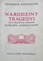 Narodziny Tragedyi czyli Hellenizm i pesymizm