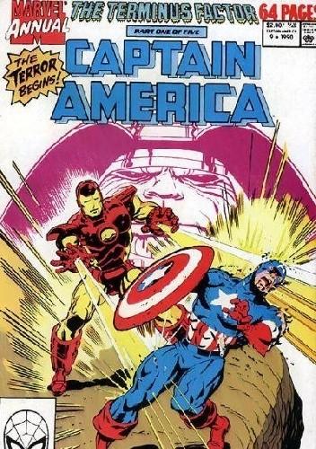 Okładka książki Captain America Annual #9