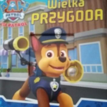 Okładka książki Psi Patrol. Wielka przygoda