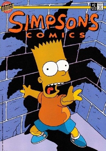 Okładka książki Simpsons Comics #2 - Cool Hand Bart; My Sister, My Homewrecker!
