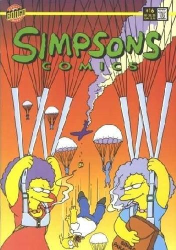 Okładka książki Simpsons Comics #16 - Waitresses in the Sky