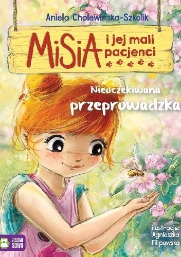Okładka książki Misia i jej mali pacjenci. Nieoczekiwana przeprowadzka