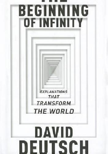 Okładka książki The Beginning of Infinity