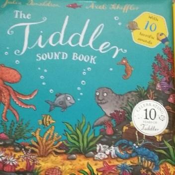 Okładka książki The Tiddler Sound Book