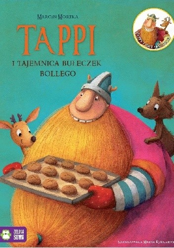 Okładka książki Tappi i tajemnica bułeczek Bollego