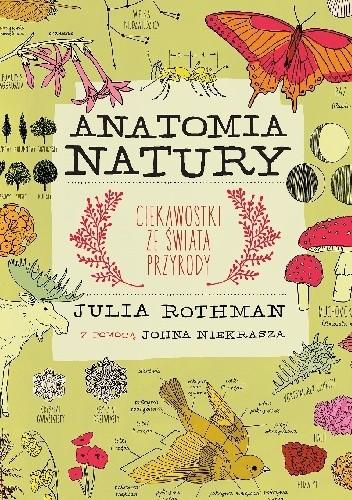 Okładka książki Anatomia natury. Ciekawostki ze świata przyrody