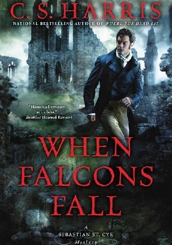 Okładka książki When Falcons Fall