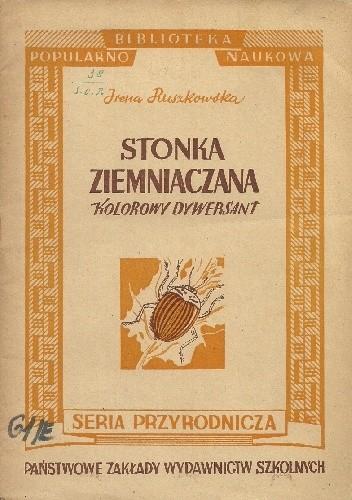 Okładka książki Stonka ziemniaczana. Kolorowy dywersant