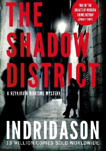 Okładka książki The Shadow District