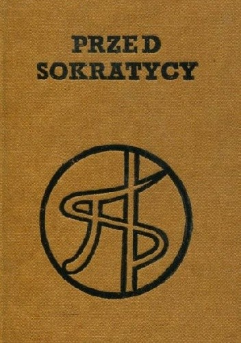 Okładka książki Przed sokratycy