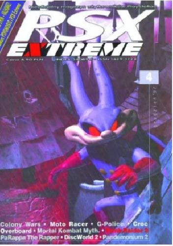 Okładka książki PSX Extreme #004 - 4/97