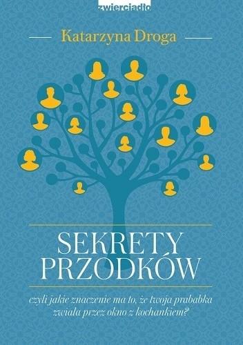 Okładka książki Sekrety przodków Czyli jakie znaczenie ma to, że twoja prababka zwiała przez okno z kochankiem?