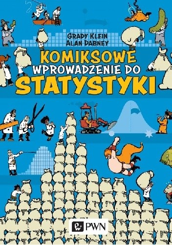 Okładka książki Komiksowe wprowadzenie do statystyki