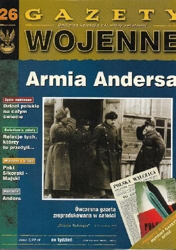 Okładka książki 26. Armia Andersa