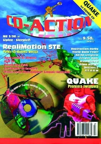 Okładka książki CD-ACTION 3/96