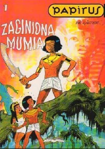 Okładka książki Papirus Zaginiona Mumia