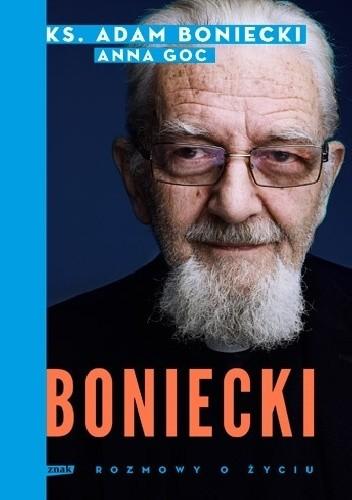 Okładka książki Boniecki. Rozmowy o życiu