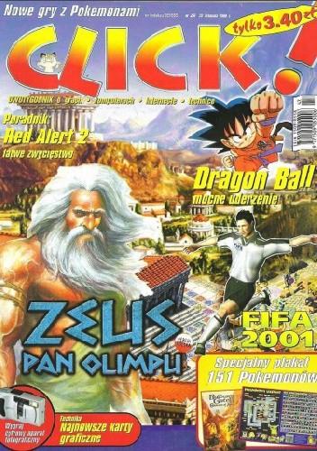 Okładka książki Click! 23/2000