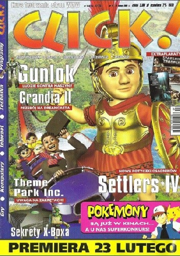 Okładka książki Click! 04/2001