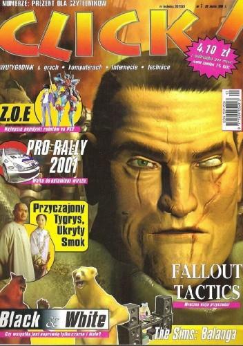 Okładka książki Click! 07/2001