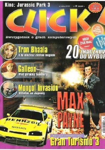 Okładka książki Click! 18/2001