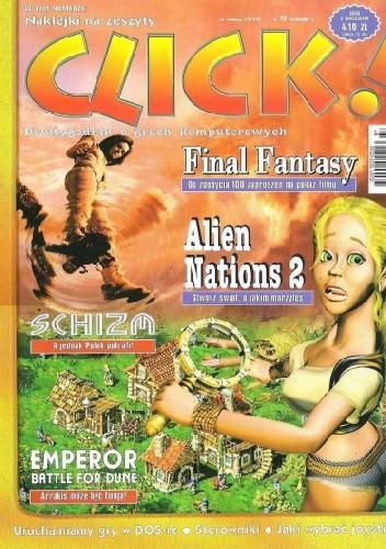 Okładka książki Click! 19/2001