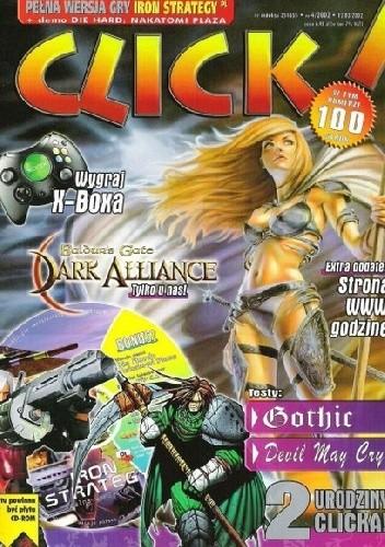 Okładka książki Click! 4/2002