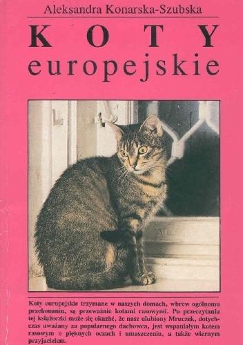 Okładka książki Koty europejskie