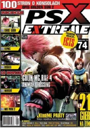 Okładka książki PSX Extreme #74 - 10/2003
