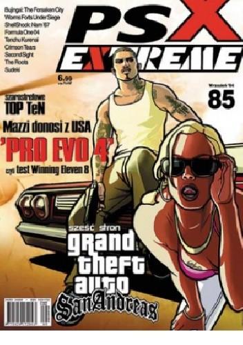 Okładka książki PSX Extreme #85 - 09/2004