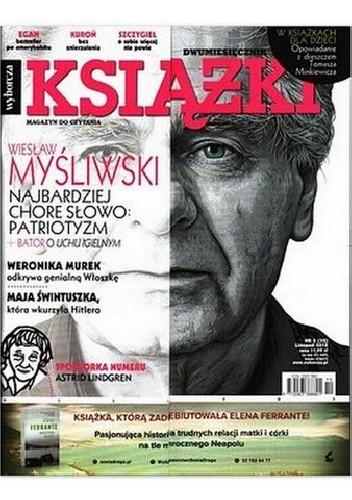 Okładka książki Książki. Magazyn do Czytania, nr 5 (32) / listopad 2018